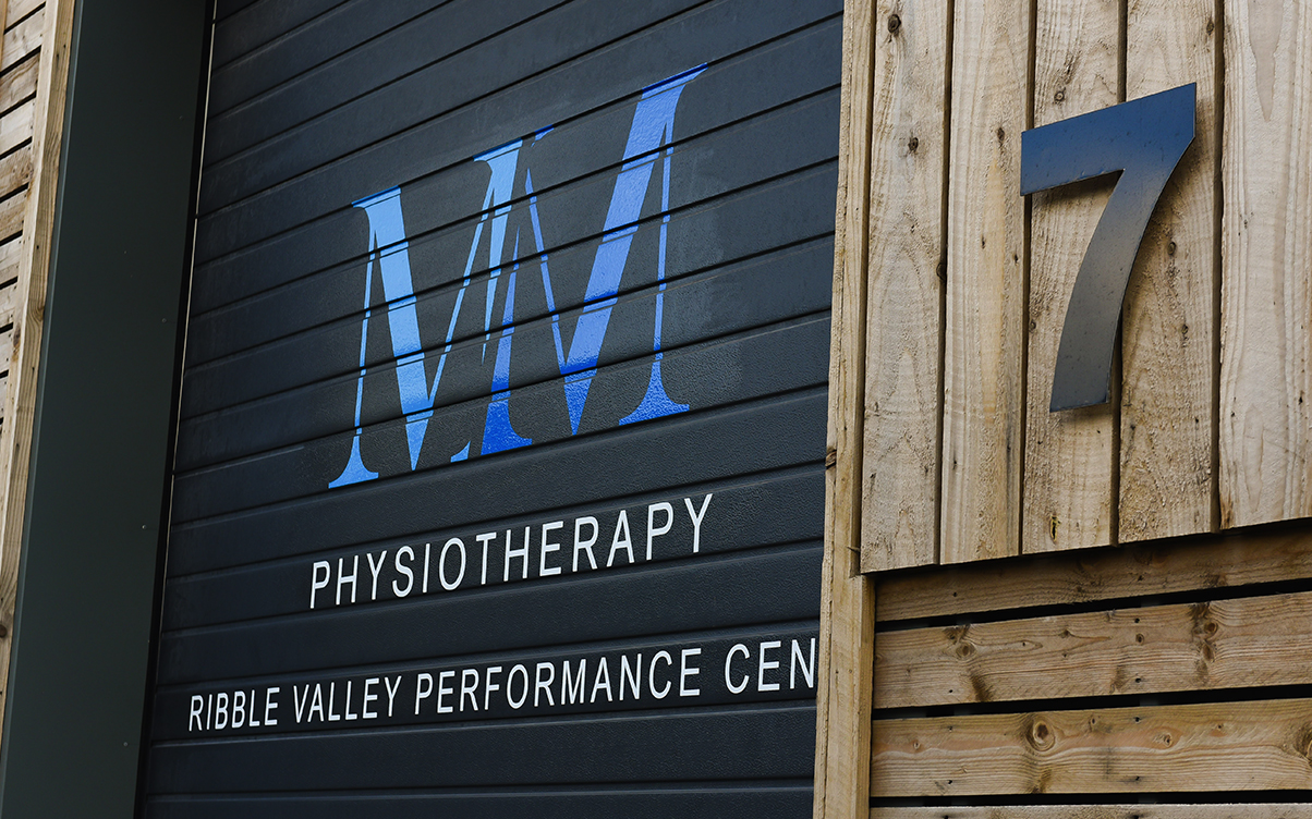 physiotherapy - outdoor signage